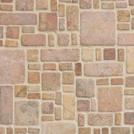 Nobil Stone Mozaïek Anticati Moduli Capri rosa-0