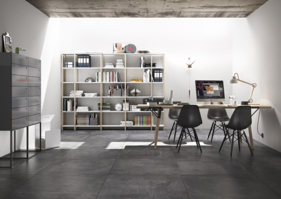 Imola Oficina 90x90 Dark Grey-1714